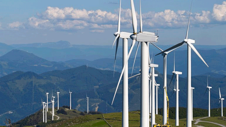 Nuevo récord de generación de energía eólica